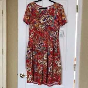 Lularoe size 2xl Amelia dress